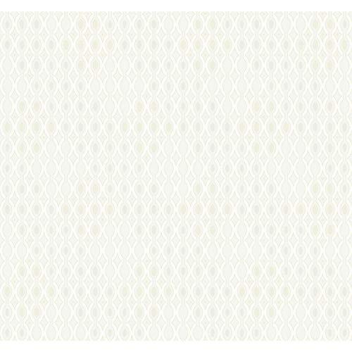 York Wallcoverings DI4753 Dimensional Artistry 60-3/4 Square Foot - Smoke & Mirrors - Pre-Pasted Paper Wallpaper