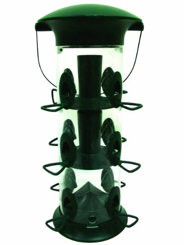 - Gardman BA04830 Premium Jumbo Flip Top Feeder - 18