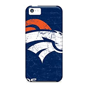 Perfect Hard Phone Cases For Iphone 5c (nhT285BrOS) Support Personal Customs Nice Denver Broncos Image