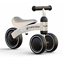 Baby Shining Children Balance Bikes Scooter Baby Walker Infant 1-3years Scooter No Foot Pedal Driving Bike Gift for Infant three wheel