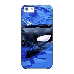 Faddish Phone Ploughing Cases For Iphone 5c / Perfect Cases Covers
