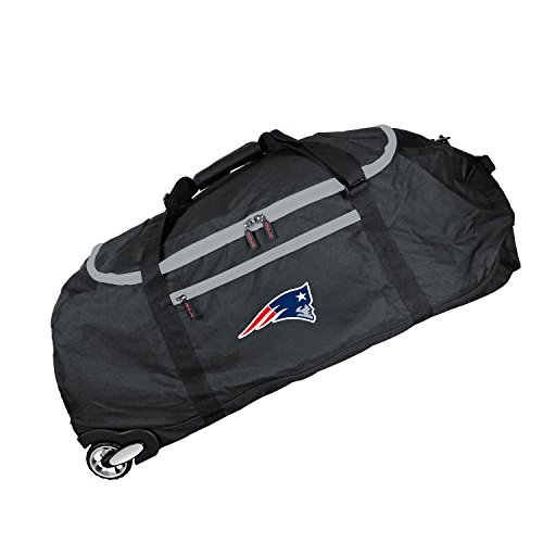 NFL England Patriots Crusader Collapsible Duffel, 36-inches from Denco