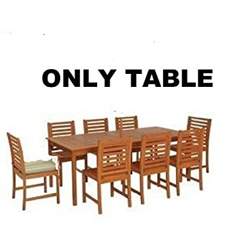 Charmant Madison Wooden 8 Seater Patio Furniture Set.