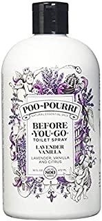 product image for Poo-Pourri Lavender Vanilla 16-Ounce Refill Bottle,
