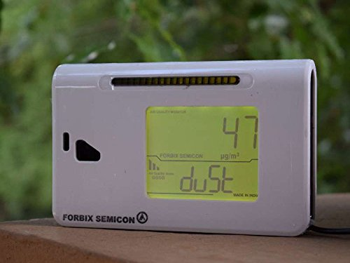 FORBIX SEMICON air quality monitor, dust monitor, PM2.5 meter, pollution meter