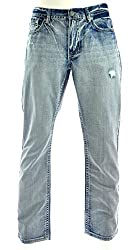 Axel Mens Treadwell Relaxed Straight Jeans 30X30 Kensington