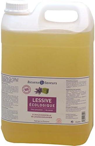 Lavandería al jabón de Marsella biosens 5L: Amazon.es: Hogar
