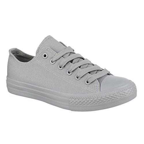 Sneaker Bequeme Top New Unisex Grey Low Textil Herren Sportschuhe für Damen Elara Schuhe und All Turnschuh 5aEZfzn