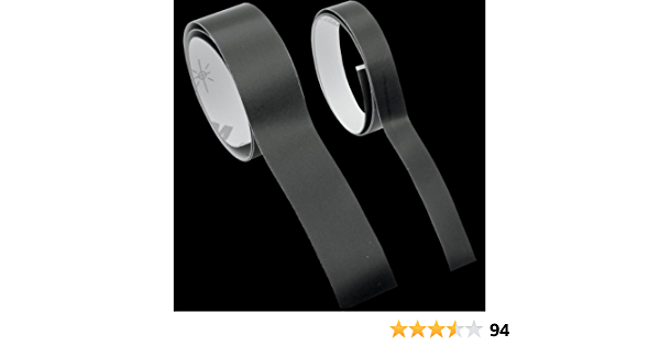 ISC Racers Tape Black Reflective Tape REF1X24 by ISC Racers Tape