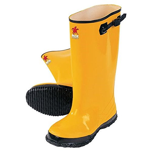 MCR Safety 17'' Rubber Slush Boots, Size 14 (4 Pack)