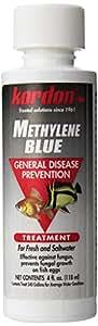 KORDON  #37344  Methylene Blue-General Disease Prevention Treatment for Aquarium, 4-Ounce,