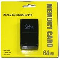 Childhood Negro 64MB 64M Módulo de tarjeta de memoria para Sony PlayStation 2 PS2