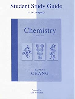 Chemistry raymond chang 9780073221038 amazon books student study guide to accompany chemistry fandeluxe Gallery