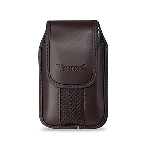 "Reiko Vertical Pouch Vp11A IPhone 3G Brown 4.5""X2.4""X0.5""..."