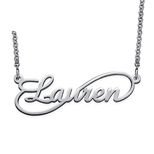 KIKISHOPQ Infinity Symbol Custom Name Necklace for Girlfriend, Mom's Best Present(gold-plated-base 20)
