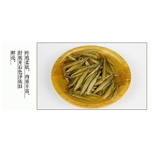 Premium Chinese Organic Bai Hao Yin Zhen Silver Needle White Leaf Tea - Direct Delivery From Fujjan China - Cholesterol Lowering Weight Loss Tea (500g (17.63 ounce)) by China Farm Products (Image #4)