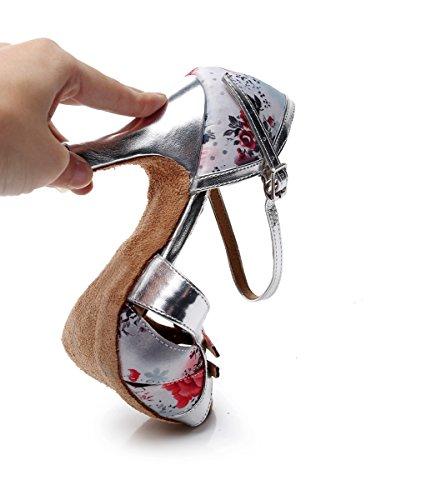 Pink 5cm Minitoo femme Rose Danse Light 7 Salon Heel de wYAPw8