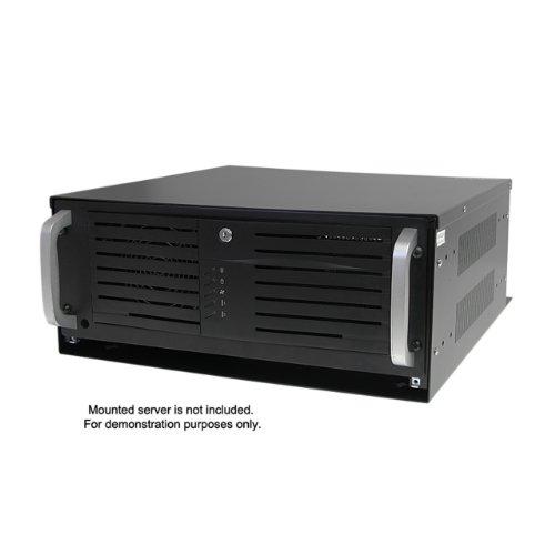 StarTech.com 4U 19-Inch Steel Horizontal Wall Mountable Server Rack RK419WALVO (Black) by StarTech (Image #4)