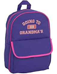 Mercury Going to Grandmas Backpack, Childrens Luggage, Small, Purple