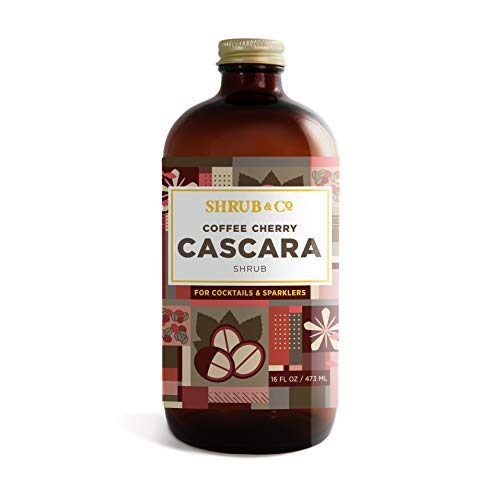451949b56ee54 Shrub & Co Coffee Cherry Cascara Shrub - Fruit-Driven Mixers for Cocktails,  Sparklers, and Club Sodas, 16 fl. oz.