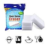 RioRand Magic Cleaning Eraser Sponge Melamine Foam  90 x 60 x 30mm(Pack Of 30)