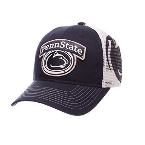 NCAA Penn State Nittany Lions Men's Interstate Trucker Cap, Adjustable, Navy
