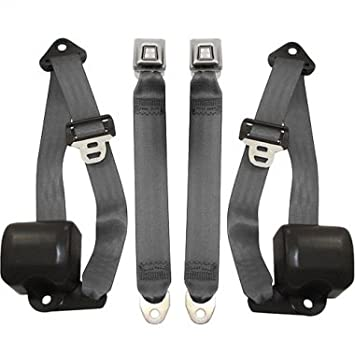 Exceptional Jeep Wrangler Front Seat Belts, Charcoal