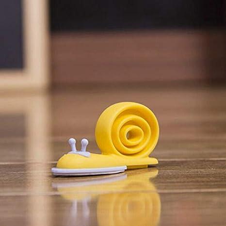 Plastic Baby Safety Door Stopper Protector Children Safe Snail Shape Door StopSP