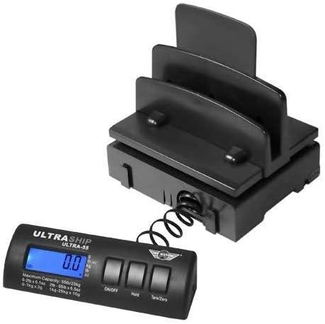 Diamond Packaging Ultraship My Weigh Adaptateur de balance num/érique pour colis postaux Adapter only Ultraship R1 60lb Noir