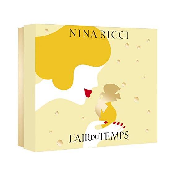 Nina Ricci L'Air Du Temps For Women Eau de Toilette 100ml with Body Lotion 100ml