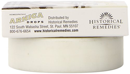 Historical Remedies Homeopathic Arnica Drops Repair and Relief Lozenges, 30  Count