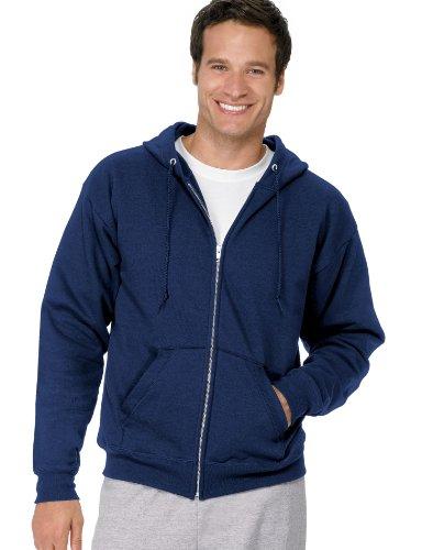 EcoSmart Fleece Hoodie, Navy, X-Large ()