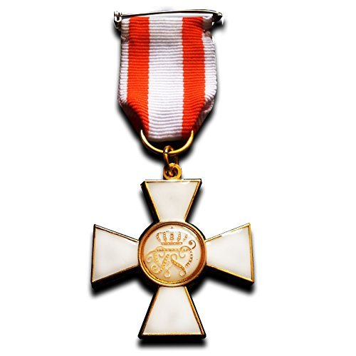 Military Medal Order of The Red Eagle 1st Class Prussia Military Medal WW1 German (Soldier 1st Class Costume)