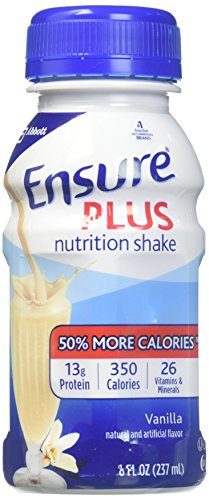 Ensure Plus Ready To Use (Vanilla) 24/8-Fl-Oz Bottles - 1 Case Of 24 by Abbott