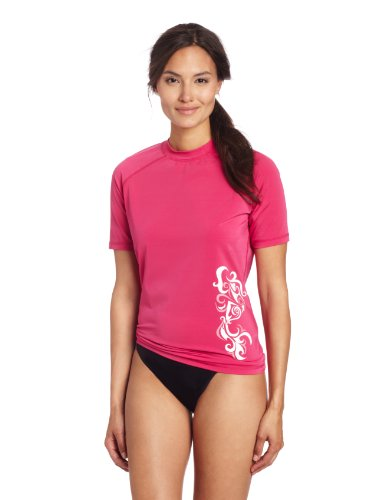 Kanu Surf Women's Breeze ii Rashguard, Pink, X-Large