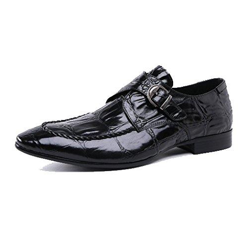 Scarpe alla Moda, Modelli Personalizzati, Scarpe Dding, alla Moda E Generose, Business Casual, Comode, Traspiranti Black