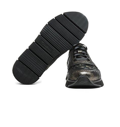 Baskets Or Santoni Cuir Wbhy60092grnemlyv50 Femme Uwa8vxSA