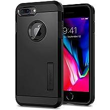 Spigen Tough Armor [2nd Generation] iPhone 8 Plus Case/iPhone 7 Plus Case with Kickstand Air Cushion Technology for Apple iPhone 8 Plus (2017) / iPhone 7 Plus (2016) - Black