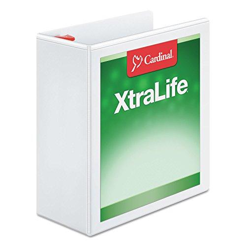 (CRD26340 - XtraLife ClearVue Non-Stick Locking Slant-D Binder)