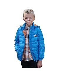 Leo&Lily Big Boys' Winter Packable Down Jacket Outwear Coat