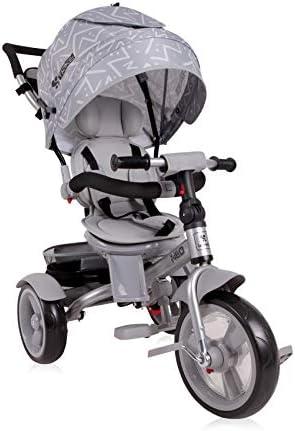 Farbe:t/ürkis Sitz drehbar Lorelli Tricycle Neo 4 in 1 Eva-Reifen verstellbar Schiebestange