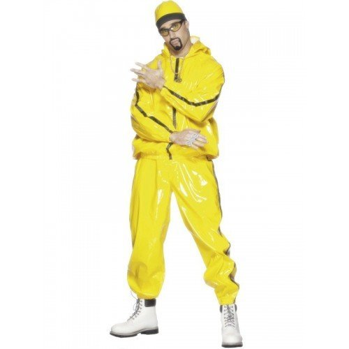 Rapper The Game Costume (Rapper Suit Adult Costume - Medium)
