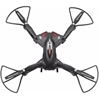 Owill TK110HW Portable Foldable Aircraft With WIFI 0.3PM Camera FPV Unreal Image VR Model (Black)