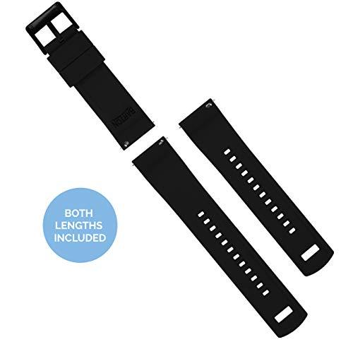 Barton Elite Silicone Watch Bands - Quick Release - Choose Color - 18mm, 19mm, 20mm, 21mm, 22mm, 23mm & 24mm Watch Straps