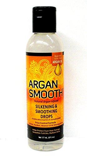 Argan Smooth Silkening & Smoothing Drops, 6 Fluid Ounce