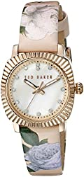 Ted Baker Women's 10024721 Mini Analog Display Japanese Quartz White Watch