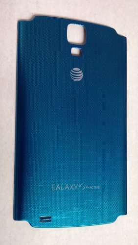 Samsung Galaxy S4 Active i537 Blue Standard Battery Door Back Cover