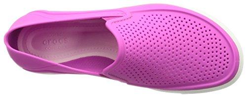 Mujer para Crocs Estar Citlnrkaslpw Violet Casa de Zapatillas por Vibrant tY0PY