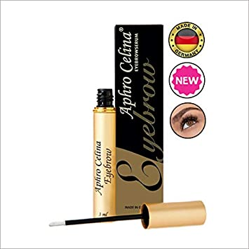 Eyebrow Growth Serum Brow – 1 German Advanced Technology Brow Growth Guaranteed Blended Formula Nutrient Strengthens At The Roots Rich Herbal Extracts Longer Thicker Lashes and Brows Lash Growth