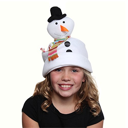 [Snowman Hat, Child] (Snowman Costume Hat)